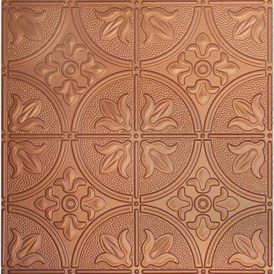 Dimensions 2 Ft X Copper Tin Ceiling Tile