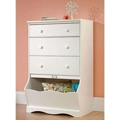 Pogo 3-Drawer Soft White Chest