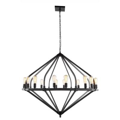 Illumina 16-Light Bronze Pendant Lamp