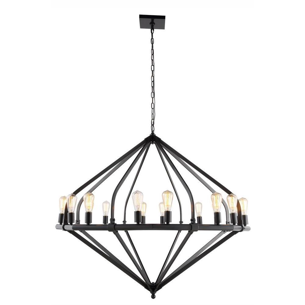 Illumina 16-Light Bronze Pendant Lamp