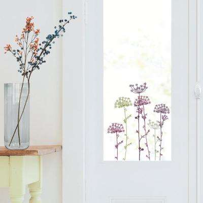 Multi-Color Lace Flowers Wall Decals