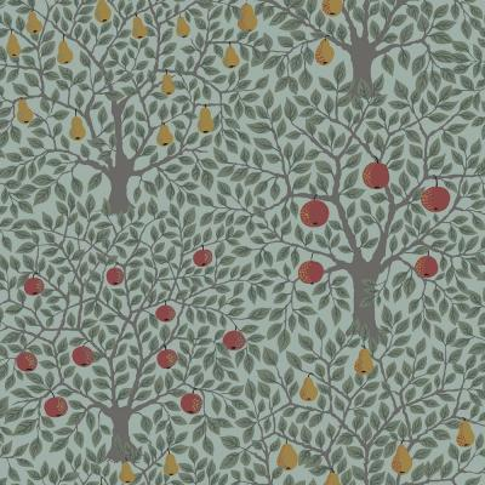 Pomona Green Fruit Tree Wallpaper
