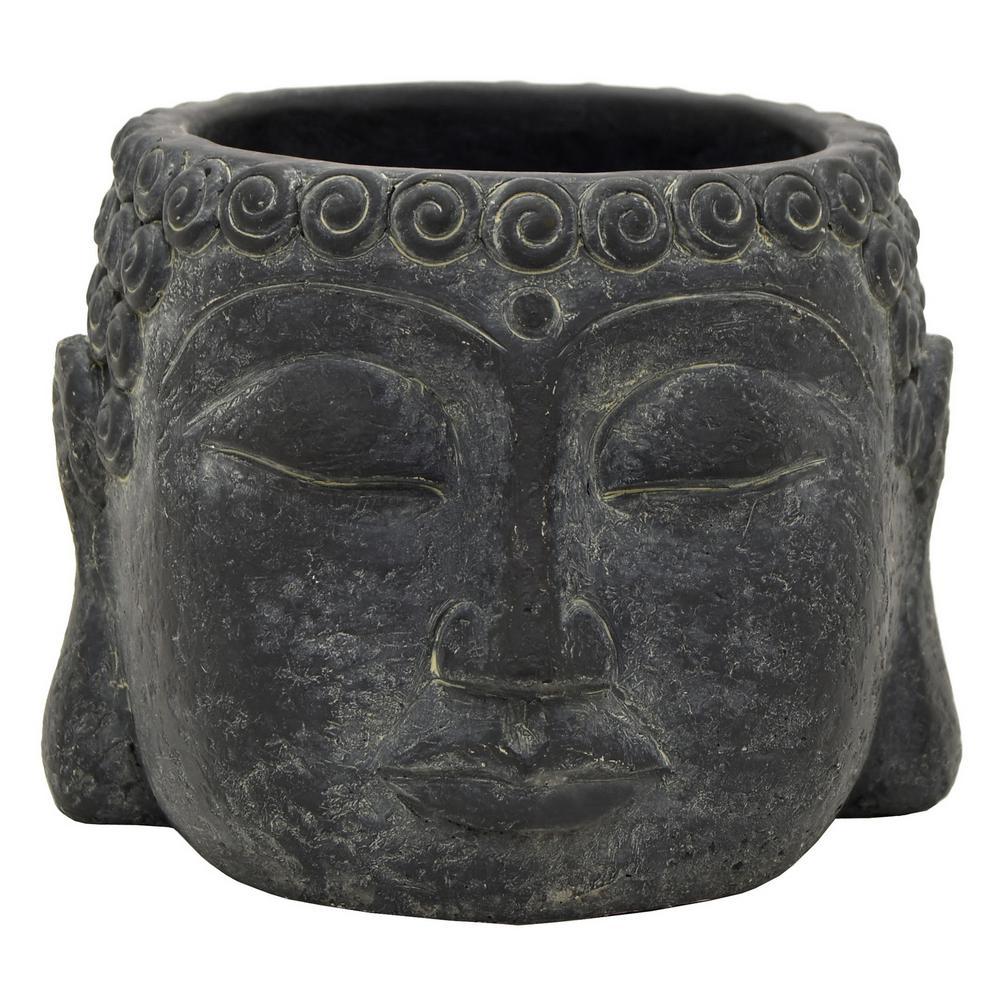 4.25 in. Buddha Face Flower Pot