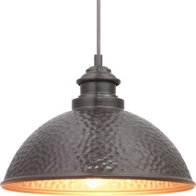 Englewood Collection 1-Light Antique Bronze Hanging Lantern