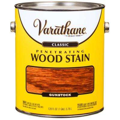 1 gal. Gunstock Classic Wood Interior Stain (2-Pack)