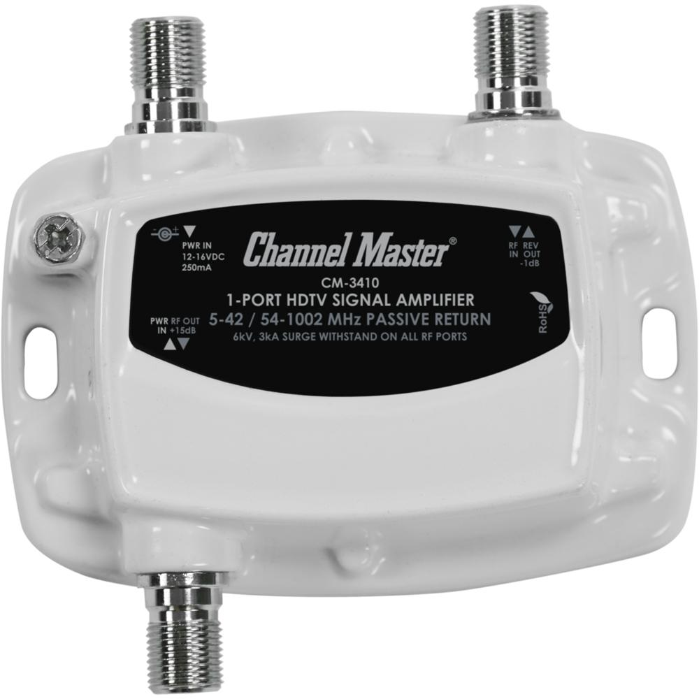 Channel Master Av Splitters Signal Amplifiers Cables Tv Aerial Wiring Diagram How To Split An Over The Air Antenna Ultra