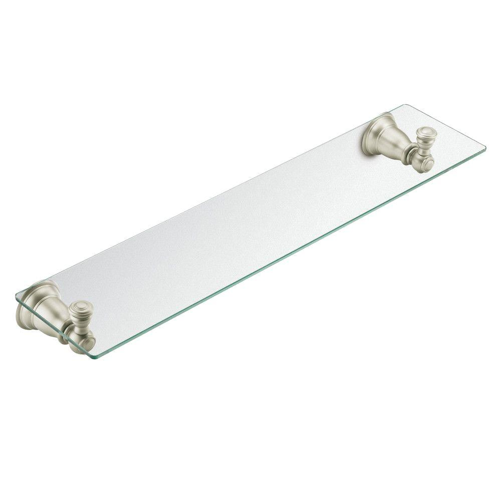 MOEN Kingsley 5-1/4 in. L x 2-9/10 in. H x 22-3/4 in. W Wall-Mount ...