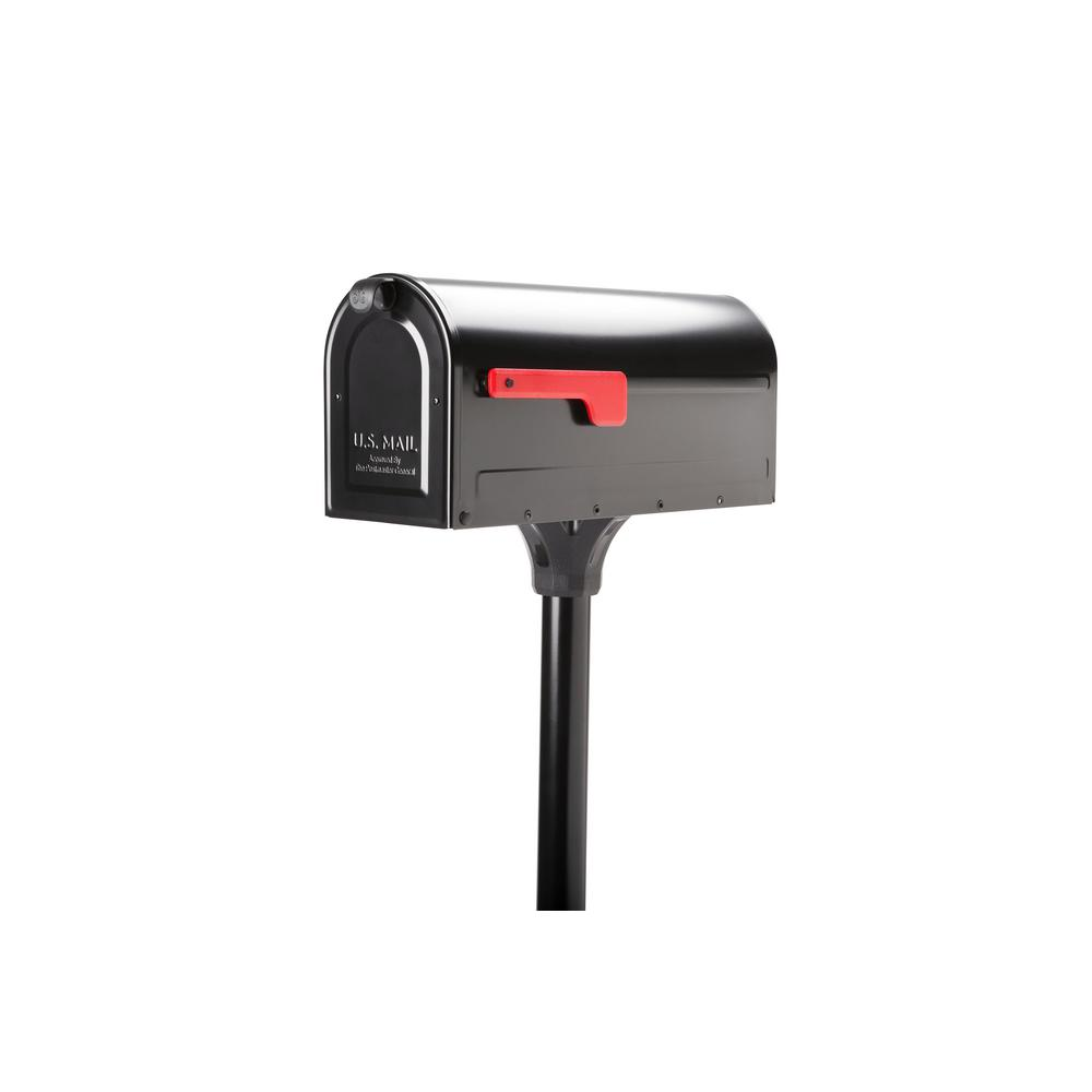 Architectural Mailboxes Mb1 Post Mount Mailbox And In