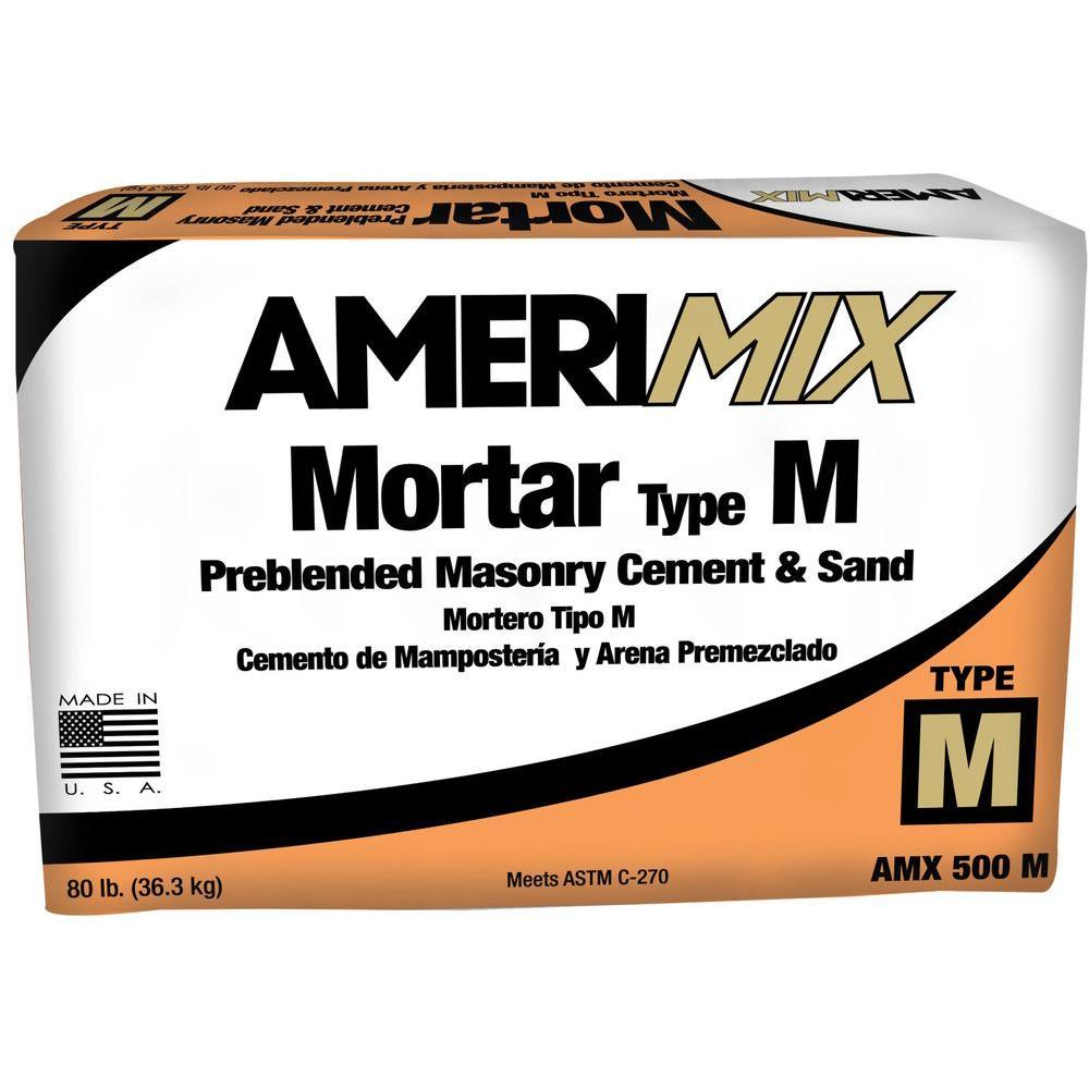 80 lb. Type M Mortar Mix