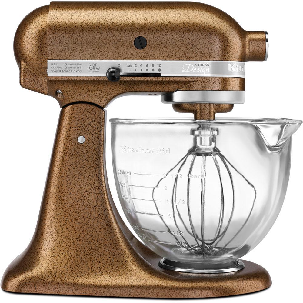 Kitchenaid artisan designer 5 qt antique copper stand mixer ksm155gbqc the home depot - Kitchenaid artisan qt stand mixer sale ...