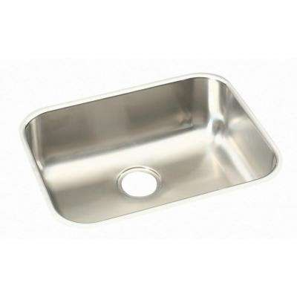 Undermount Stainless Steel 24 in. Single Bowl Kitchen Sink