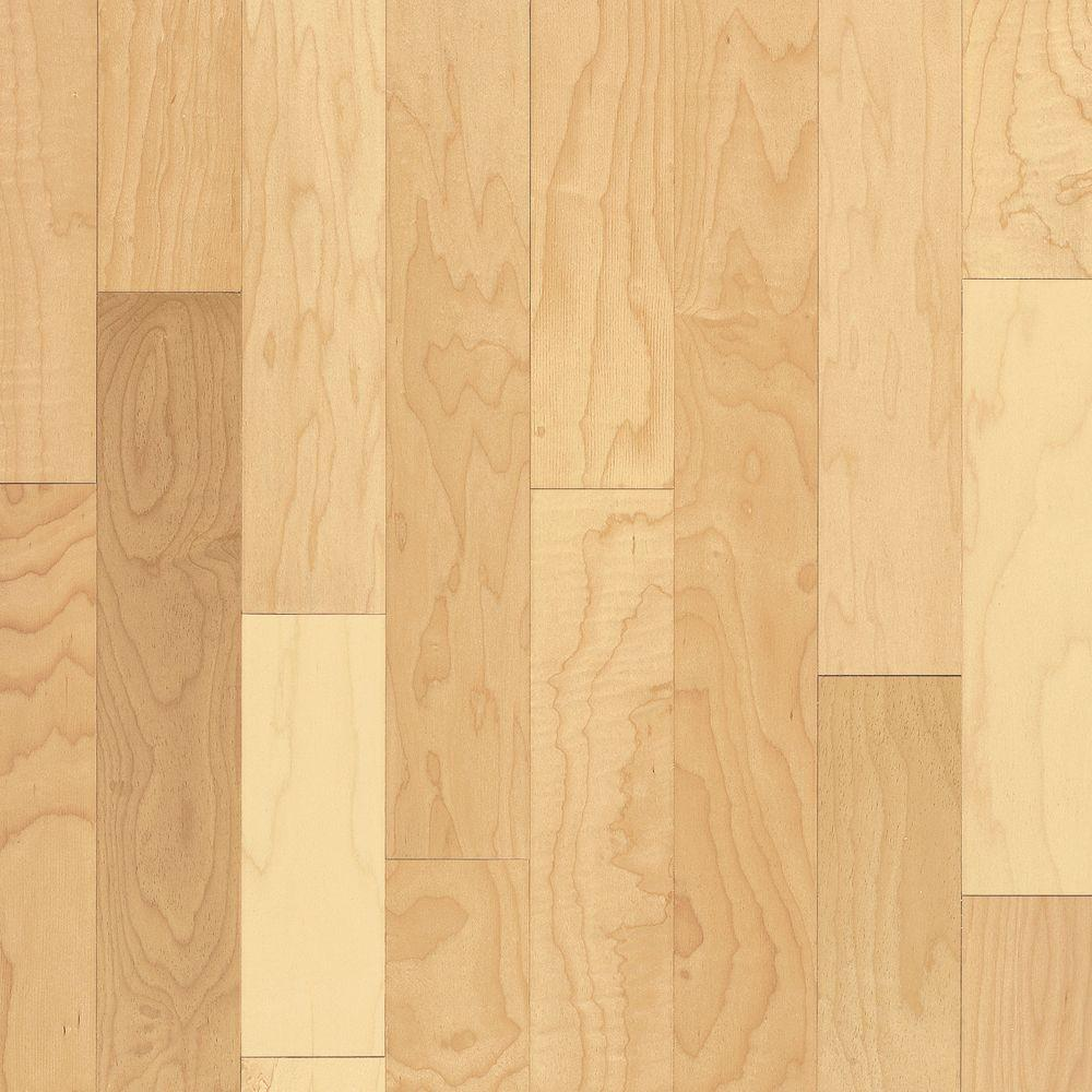 Bruce take home sample prestige natural maple solid for Bruce hardwood flooring