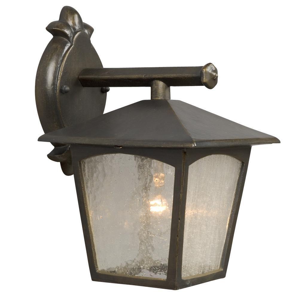Filament Design Negron 1-Light Outdoor Oil Rubbed Bronze Wall Lantern