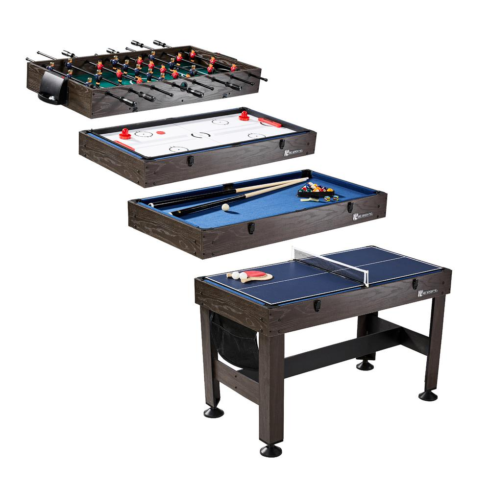 54 in. 4-in-1 Combo Game Table