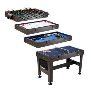 Md Sports 54 In 4 In 1 Combo Game Table Cbf054058m The Home Depot