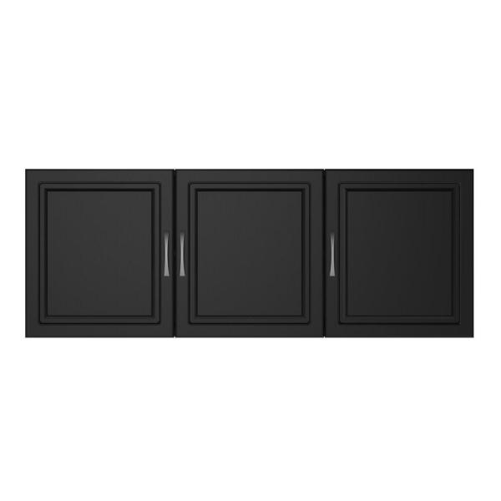 Ameriwood Home Trailwinds 54 in. Obsidian Black Wall Cabinet HD97172