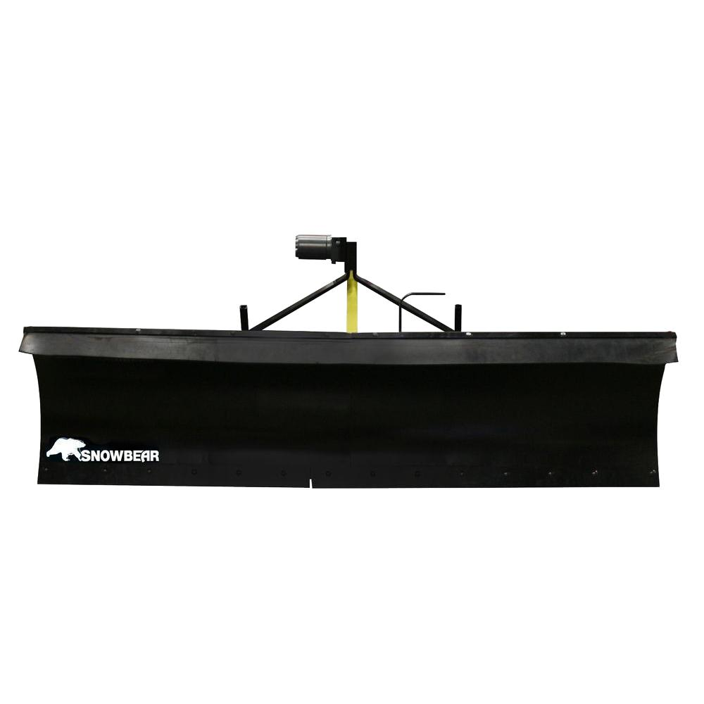 Heavy-Duty 72 in. x 19 in. Snow Plow for John Deere
