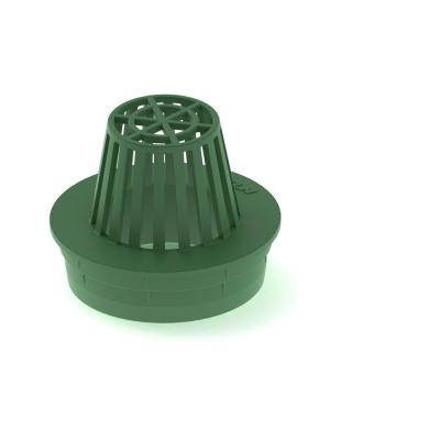 4 in. Atrium Green Grate