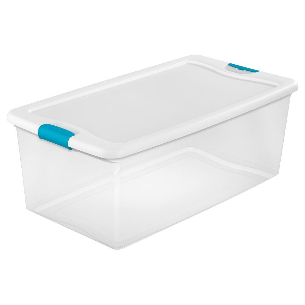Sterilite Latching 106 Qt. Storage Box