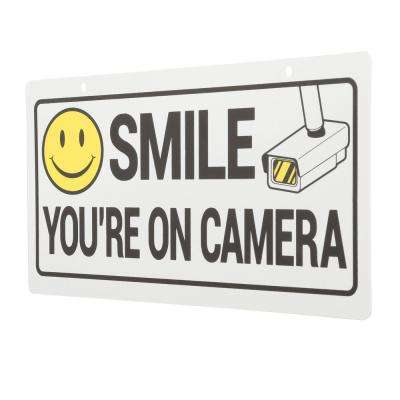 picture relating to Smile You're on Camera Sign Printable named Symptoms, Letters Quantities - Components - The Dwelling Depot