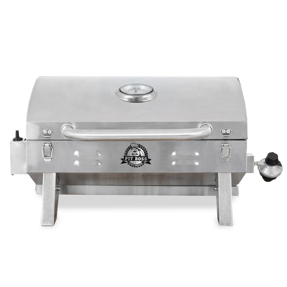 Exceptional Stainless Steel Lp Gas Portable Grill