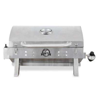 305 sq. in. Stainless Steel Lp Gas Portable Grill