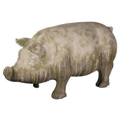 11 in. Wilbur Standing Pig Accent Statue