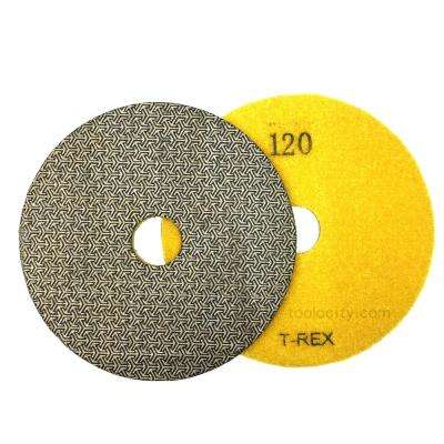 7 in. 120-Grit Electroplated Diamond Polishing Pads