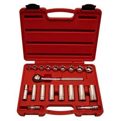 Socket Set 3/8 in. Drive 20 PC