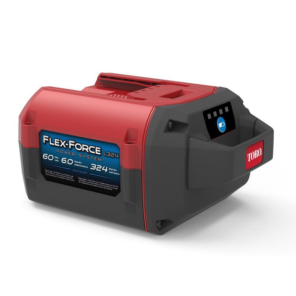 Toro Flex-Force Power System 60-Volt Max 6.0 Ah Lithium-Ion L324 Battery