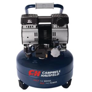 Campbell Hausfeld 6 Gal. Electric Pancake Quiet Air Compressor by Campbell Hausfeld