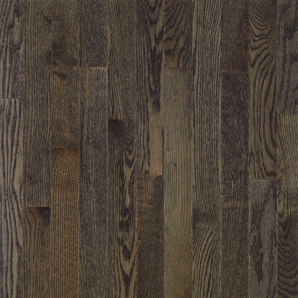Bruce American Originals Coastal Gray Oak 3 8 In T X W Varying Length Eng Click Lock Hardwood Floor 22 Sqft Case EHD3623L