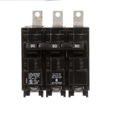 90 Amp 3-Pole Type BLH 22 kA Circuit Breaker