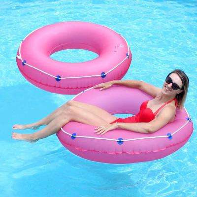 Pink 48 in. Pool Tube (2-Pack)