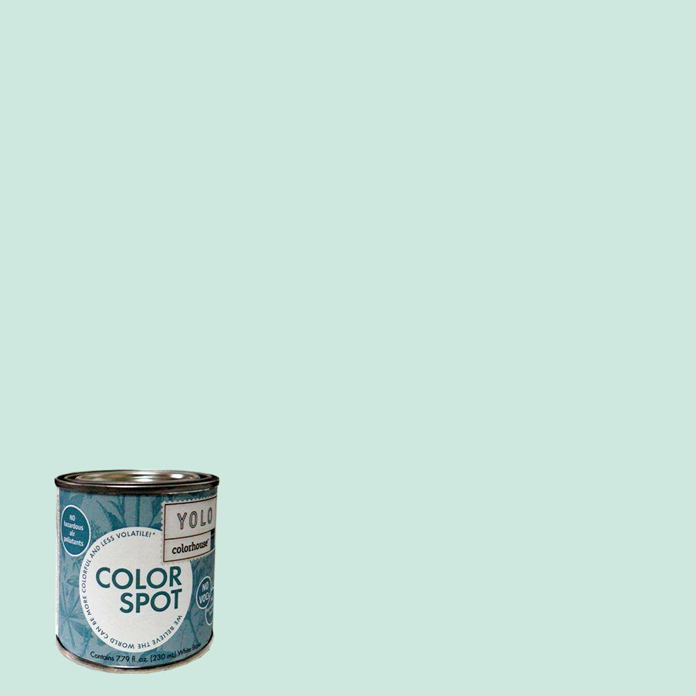 YOLO Colorhouse 8 oz. Water .01 ColorSpot Eggshell Interior Paint Sample-DISCONTINUED