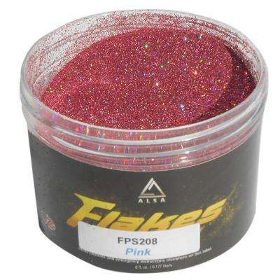 6 oz. Pink-2 Flakes Paint Additive