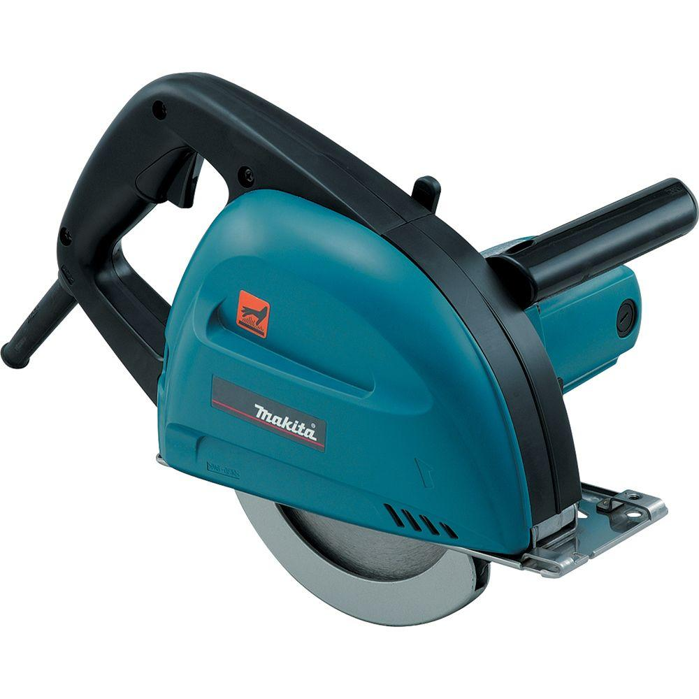 Makita 13 Amp 7-1/4 in. Corded Metal Cutting Saw with Dust Collector and 36T CERMET Blade