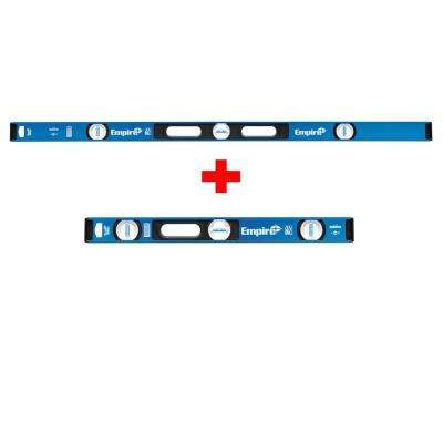 48 in. True Blue I-Beam Level with Free 24 in. True Blue I-Beam Level