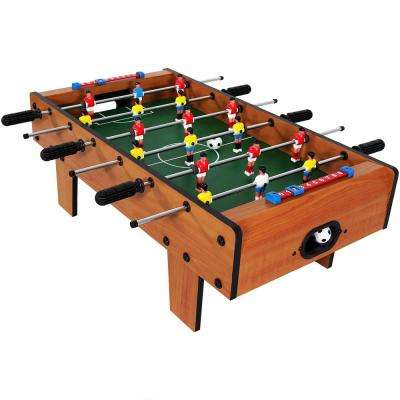 28 in. Tabletop Foosball Table Game with Legs