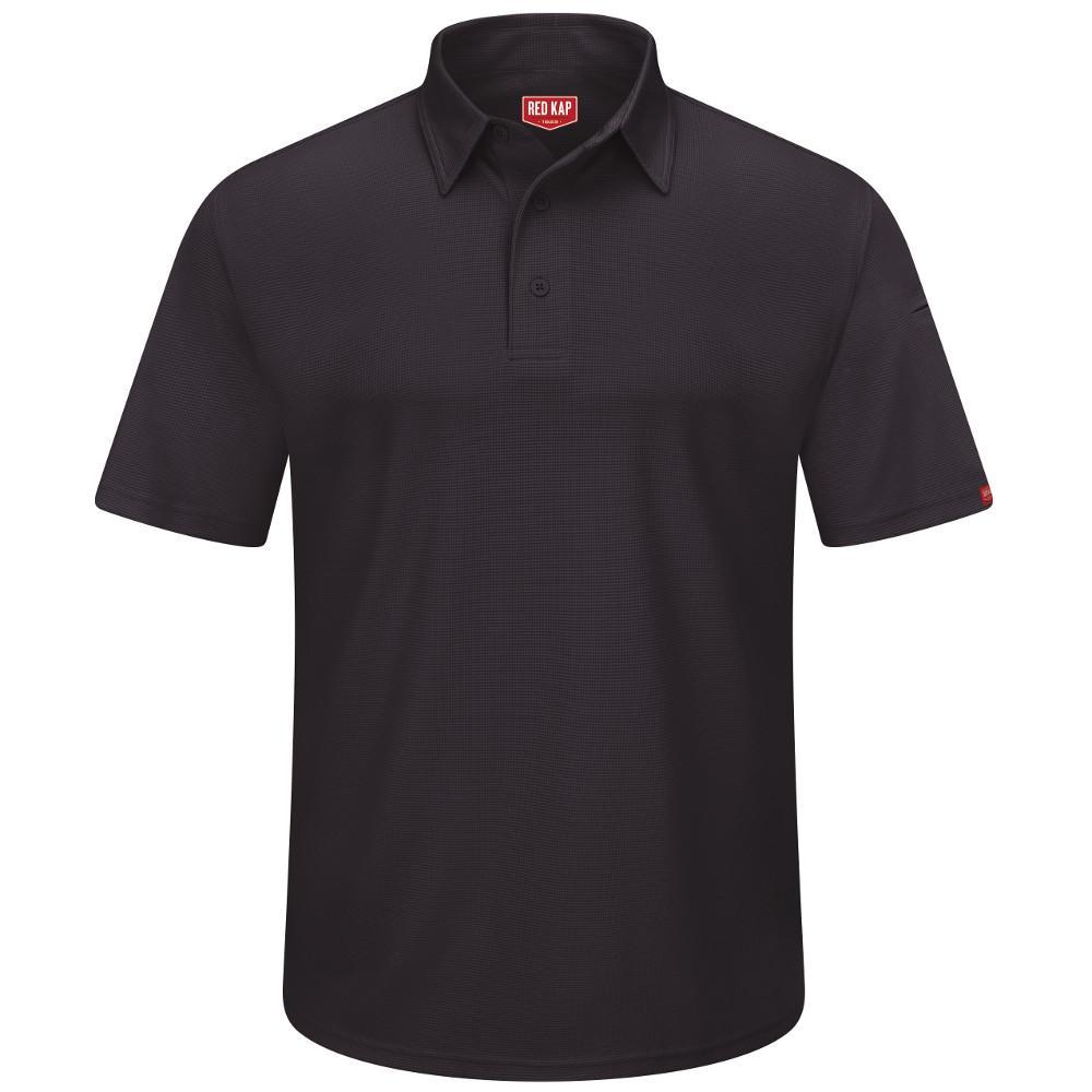 Men's Size 4XL Black Professional Polo