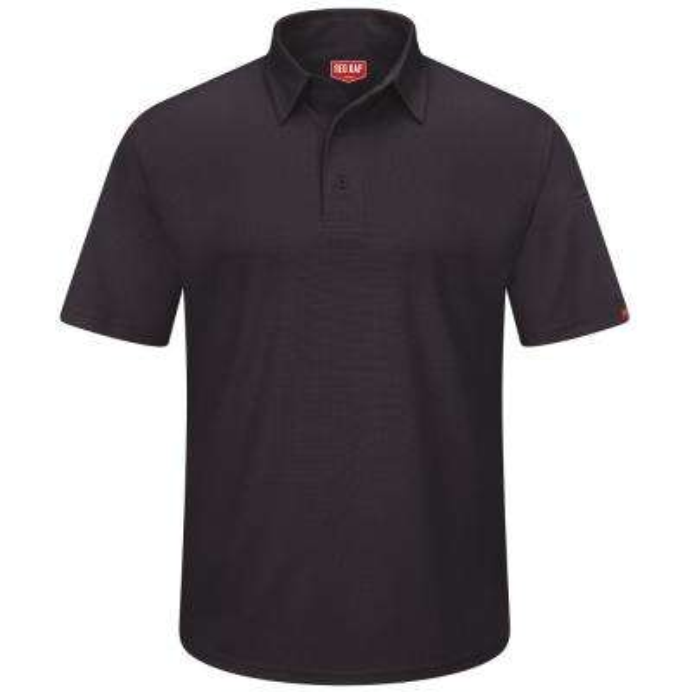 Men's Size 2XL Black Professional Polo