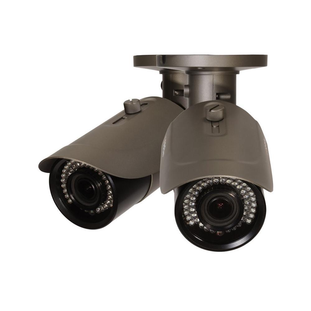 Indoor/Outdoor Bullet 4MP IP Security Camera (2-Pack)