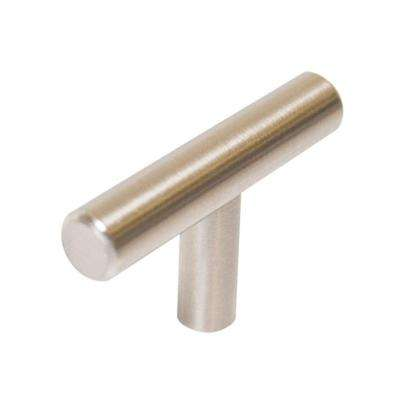 1.54 in. Stainless Steel Cabinet T-Pull