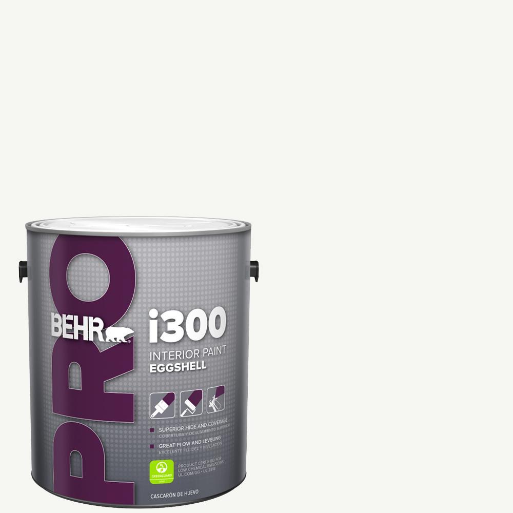 Behr Pro 1 Gal I300 White Eggshell