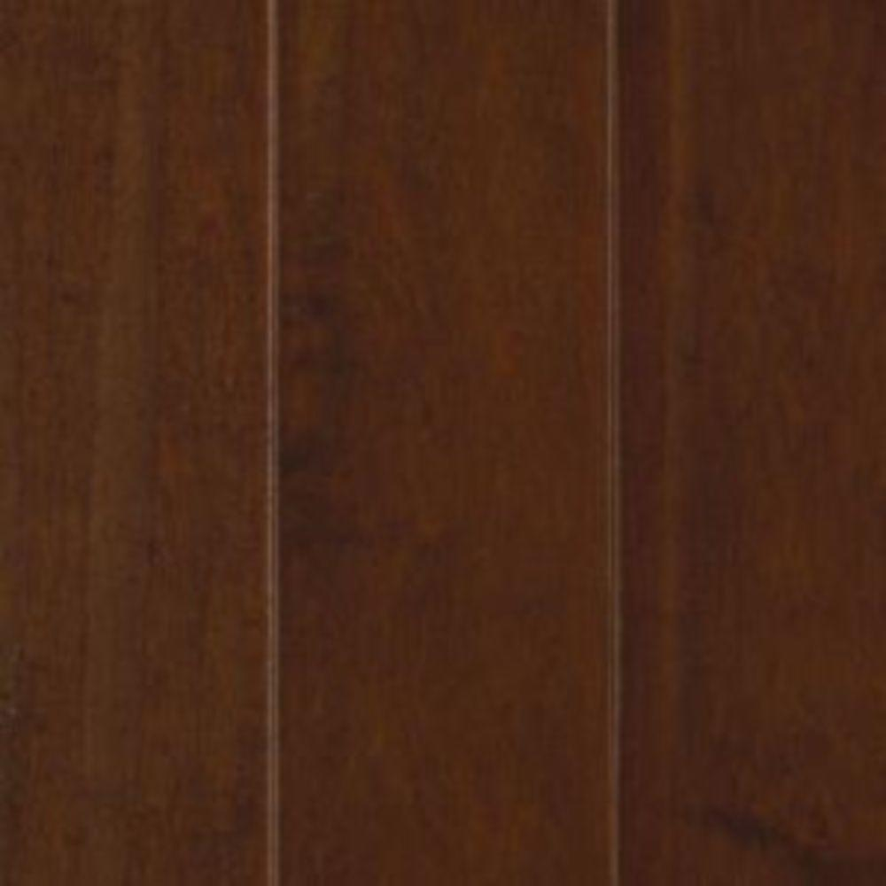 Mohawk Take Home Sample - Cognac Maple Engineered Hardwood Flooring - 5 in. x 7 in.