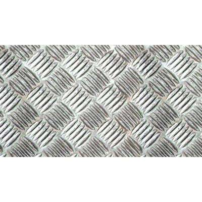 Silver Criss Cross Wall Adhesive Film (Set of 2)