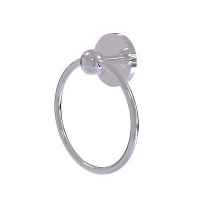 Skyline Collection Towel Ring in Polished Chrome