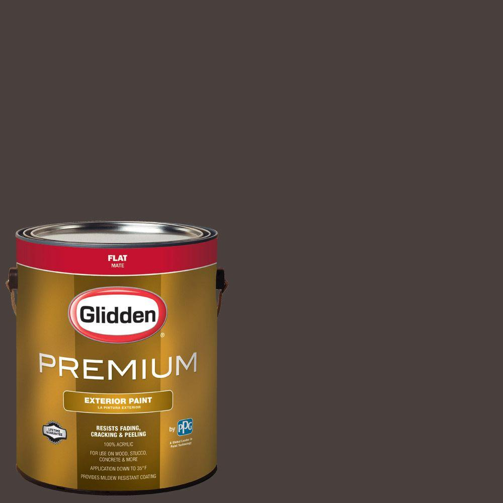 Hdgwn1 Western Charcoal Flat Latex Exterior Paint