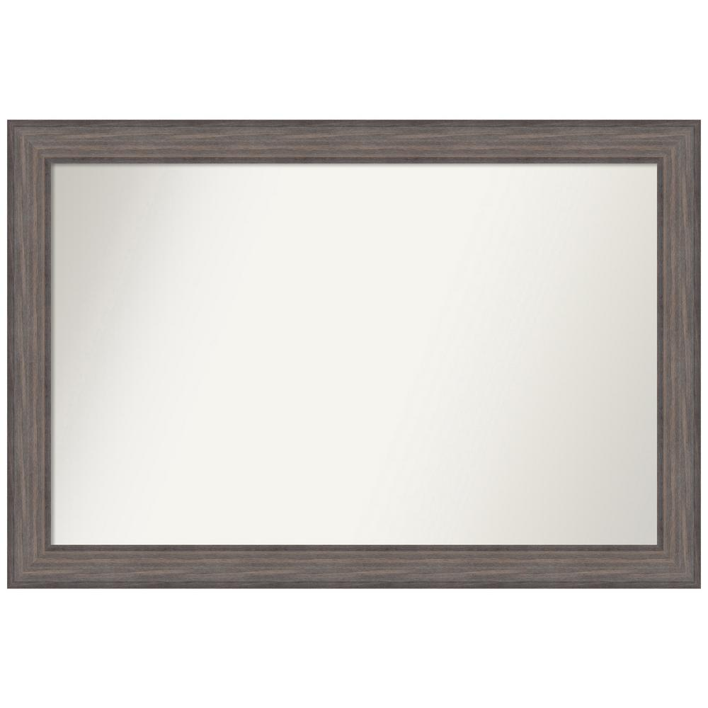 Amanti Art Choose Your Custom Size 46.25 in. x 31.25 in. Country Barnwood Decorative Wall Mirror was $549.95 now $270.02 (51.0% off)