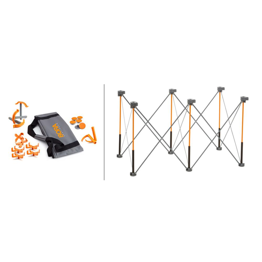 BORA Centipede 30 in. x 24 in. x 48 in. Work Support Sawhorse and Accessories, THD Exclusive Kit was $99.0 now $59.99 (39.0% off)